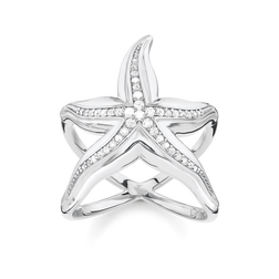 "ring ""starfish"" from the Glam & Soul collection in the THOMAS SABO online store"