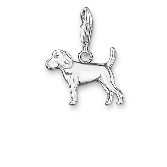 "ciondolo Charm ""cane"" from the  collection in the THOMAS SABO online store"