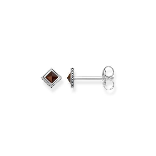 """ear studs """"Africa Brown"""" from the Glam & Soul collection in the THOMAS SABO online store"""