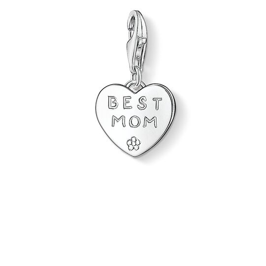 Charm pendant BEST MOM from the  collection in the THOMAS SABO online store