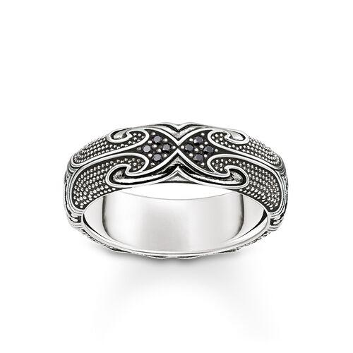 """anillo """"maorí"""" de la colección Rebel at heart en la tienda online de THOMAS SABO"""
