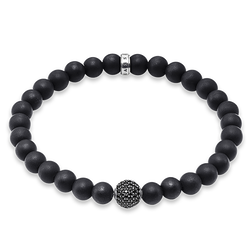 "bracelet ""pavé"" from the Rebel at heart collection in the THOMAS SABO online store"