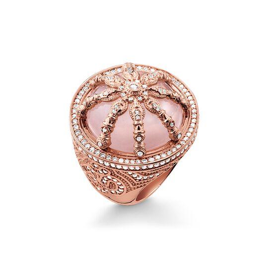 bague cocktail Karma Wheel rose de la collection Karma Beads dans la boutique en ligne de THOMAS SABO