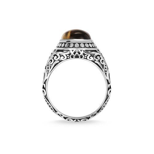 """anillo """"marrón"""" de la colección Rebel at heart en la tienda online de THOMAS SABO"""