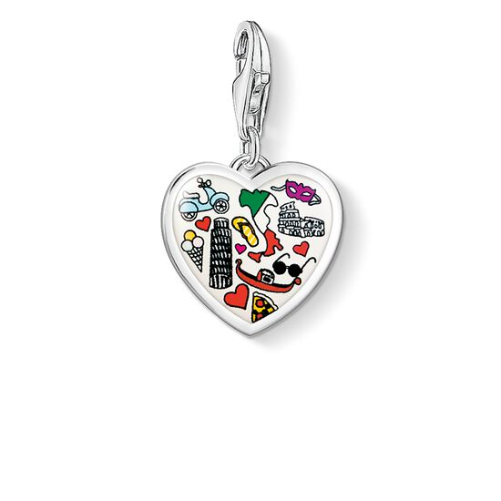 Charm pendant italy heart 1411 charm club thomas sabo charm pendant quotitaly heartquot from the collection in the thomas sabo aloadofball Choice Image