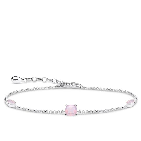 bracelet shimmering pink opal colour effect from the Glam & Soul collection in the THOMAS SABO online store