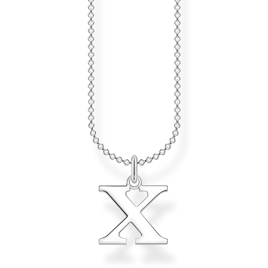 Necklace letter X from the Charming Collection collection in the THOMAS SABO online store