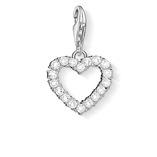 Charm pendant Romantic heart from the  collection in the THOMAS SABO online store