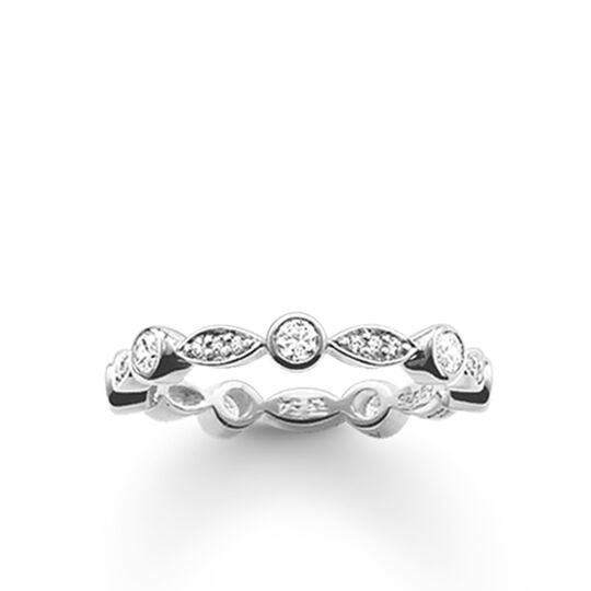 "eternity ring ""white"" from the Glam & Soul collection in the THOMAS SABO online store"