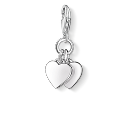 Charm pendant two hearts from the Charm Club Collection collection in the THOMAS SABO online store