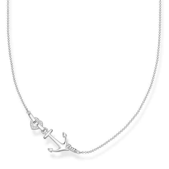 "necklace ""anchor with heart"" from the Glam & Soul collection in the THOMAS SABO online store"