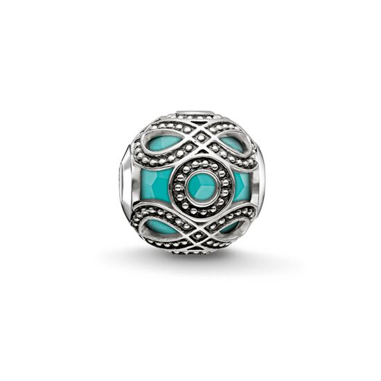 """Bead """"turquoise ethnic"""" from the Karma Beads collection in the THOMAS SABO online store"""