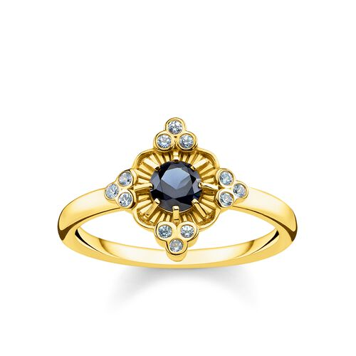 """ring """"Royalty gold"""" from the Glam & Soul collection in the THOMAS SABO online store"""