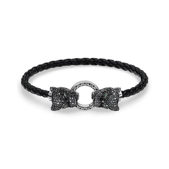 Leather strap Black Cat from the  collection in the THOMAS SABO online store