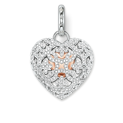 "pendant ""heart medallion pavé"" from the Glam & Soul collection in the THOMAS SABO online store"