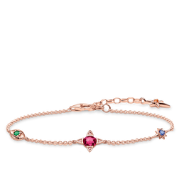 bracelet Small lucky charms, rose-gold from the Glam & Soul collection in the THOMAS SABO online store