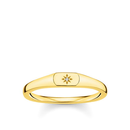 Ring Stern gold aus der Charming Collection Kollektion im Online Shop von THOMAS SABO