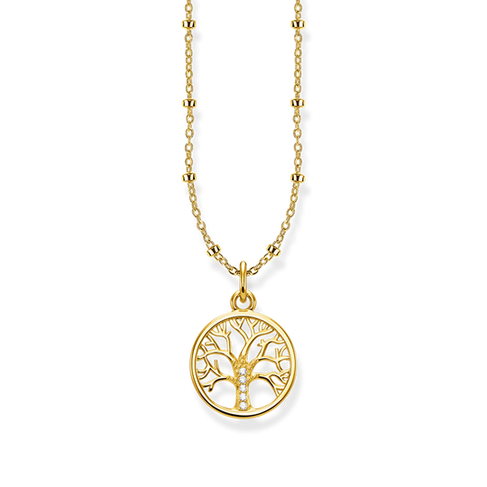 necklace Tree of Love gold from the Glam & Soul collection in the THOMAS SABO online store