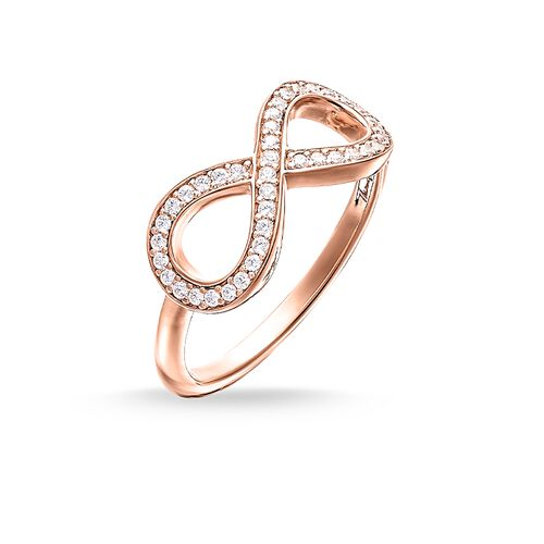 """anillo """"infinity"""" de la colección Glam & Soul en la tienda online de THOMAS SABO"""