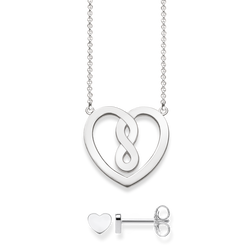 collana & orecchini a lobo from the Glam & Soul collection in the THOMAS SABO online store