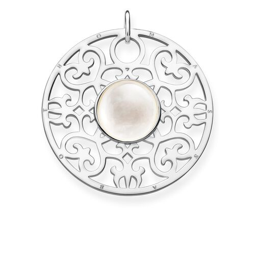 "pendant ""White ornament"" from the Glam & Soul collection in the THOMAS SABO online store"