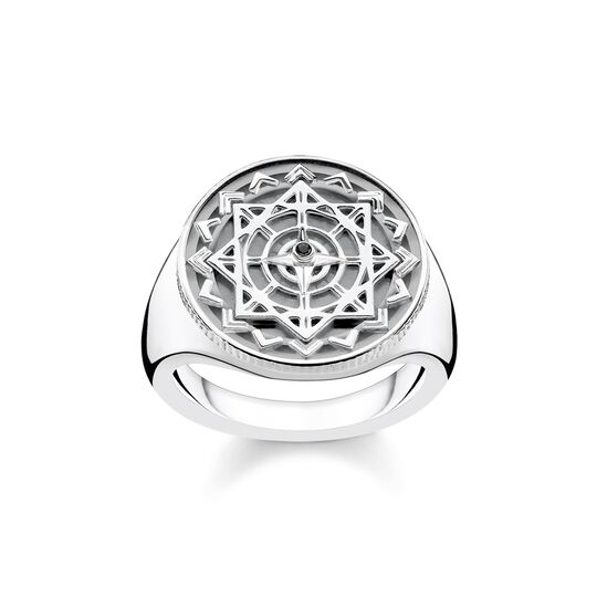 ring vintage compass silver from the  collection in the THOMAS SABO online store