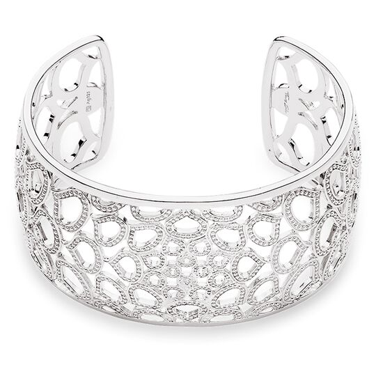 "bracelet manchette ""lotus"" de la collection Glam & Soul dans la boutique en ligne de THOMAS SABO"