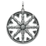 pendant karma wheel pavé from the Karma Beads collection in the THOMAS SABO online store