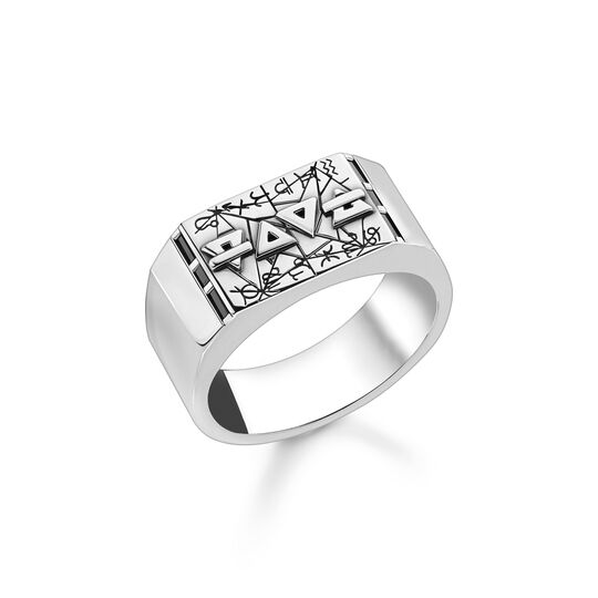 Ring elements of nature silver from the  collection in the THOMAS SABO online store