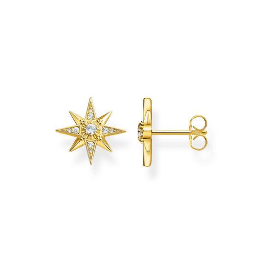 Ohrstecker Stern gold aus der  Kollektion im Online Shop von THOMAS SABO