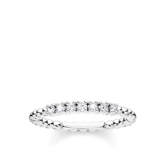 Ring kulor med vita stenar silver ur kollektionen Charming Collection i THOMAS SABO:s onlineshop