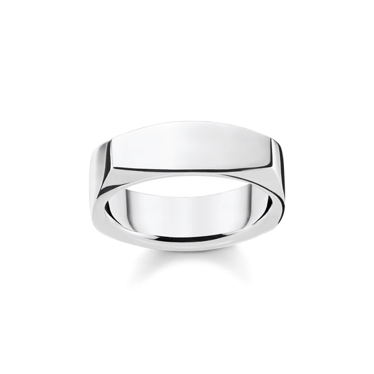 ring Angular silver from the Rebel at heart collection in the THOMAS SABO online store
