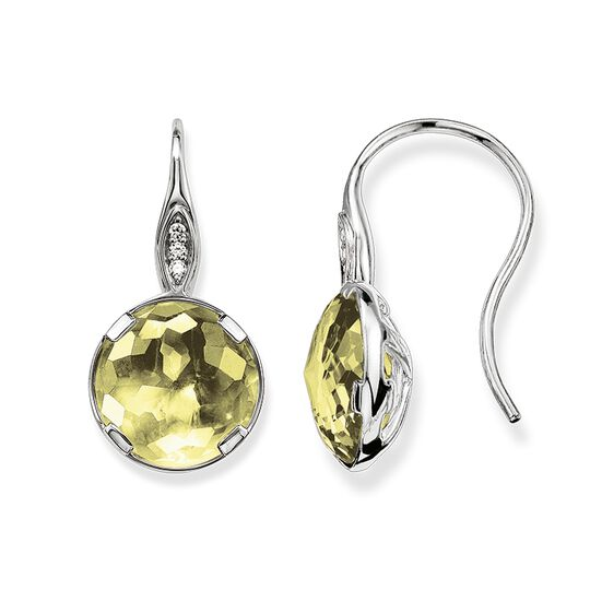 "earrings ""heart chakra"" from the Chakras collection in the THOMAS SABO online store"