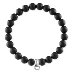 "Charm bracelet ""black"" from the  collection in the THOMAS SABO online store"