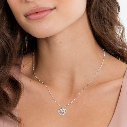 """necklace """"Heart ornamentation"""" from the Glam & Soul collection in the THOMAS SABO online store"""