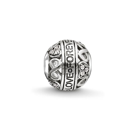 "Bead ""LOVE FOREVER"" de la collection Karma Beads dans la boutique en ligne de THOMAS SABO"