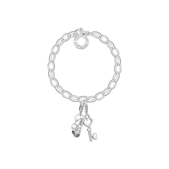 Charm bracelet love from the Charm Club collection in the THOMAS SABO online store