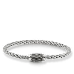 """bracelet """"white Kathmandu"""" from the Rebel at heart collection in the THOMAS SABO online store"""
