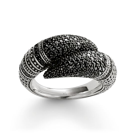 "ring ""talon pavé"" from the Rebel at heart collection in the THOMAS SABO online store"