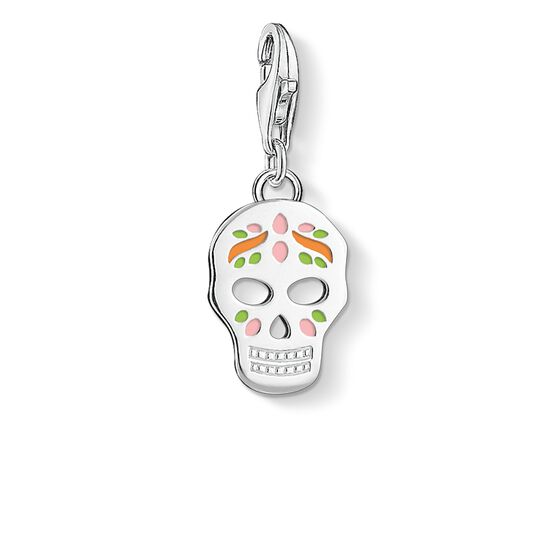 Charm pendant mexican skull 1436 charm club thomas sabo charm pendant quotmexican skullquot from the collection in the thomas sabo mozeypictures Image collections