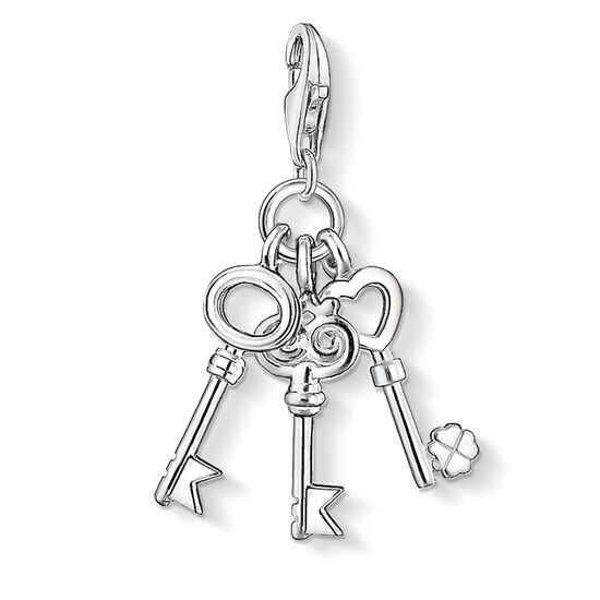 "Charm pendant ""keys"" from the  collection in the THOMAS SABO online store"