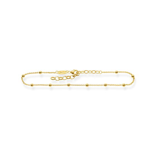 anklet Dots gold from the  collection in the THOMAS SABO online store
