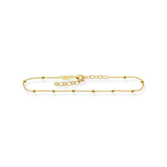 Fußkette Dots gold aus der  Kollektion im Online Shop von THOMAS SABO