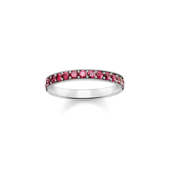 Ring red stones from the  collection in the THOMAS SABO online store