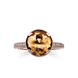 """solitaire ring """"splenic chakra"""" from the Chakras collection in the THOMAS SABO online store"""