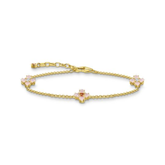 Bracelet flower gold from the  collection in the THOMAS SABO online store