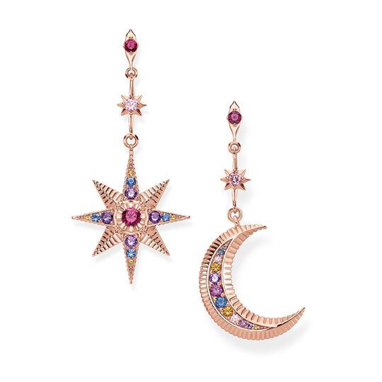 earrings Royalty Star & Moon from the Glam & Soul collection in the THOMAS SABO online store