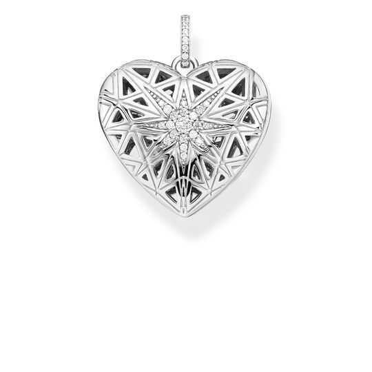 pendant heart medallion star silver from the Glam & Soul collection in the THOMAS SABO online store