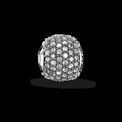 """Bead """"diamant icy avec pavé"""" de la collection Karma Beads dans la boutique en ligne de THOMAS SABO"""