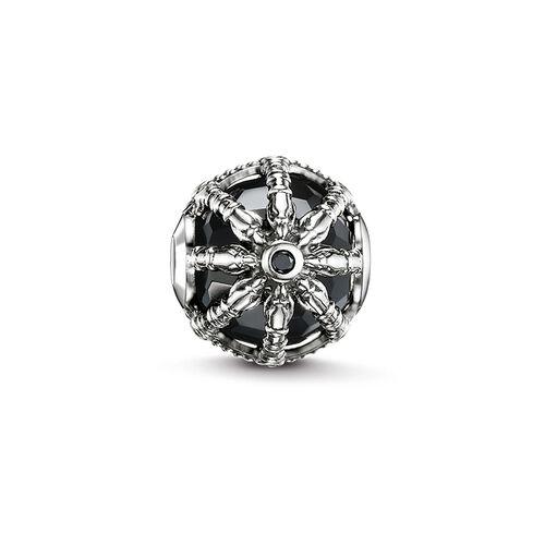"Bead ""Schwarzes Karma Wheel"" aus der Karma Beads Kollektion im Online Shop von THOMAS SABO"